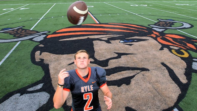 Ryle High School quarterback Tanner Morgan is the highest ranking football player in northern Kentucky.