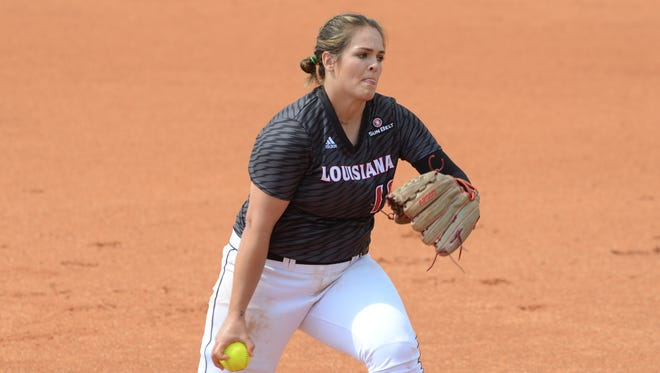 UL pitcher Alex Stewart tossed a two-hitter with one walk and 13 strikeouts in beating South Alabama 6-0 Thursday.