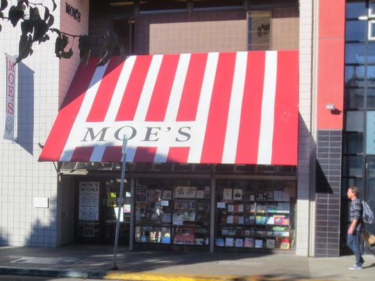 "Moe's Books, shown in ""The Graduate,"" has been a popular"