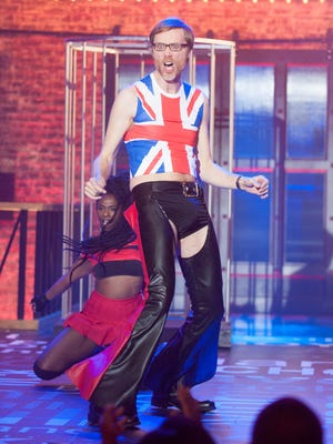 Stephen Merchant produces 'Lip Sync Battle' with John Krasinksi and Jimmy Fallon.  This week he faces off against actress Malin Akerman.