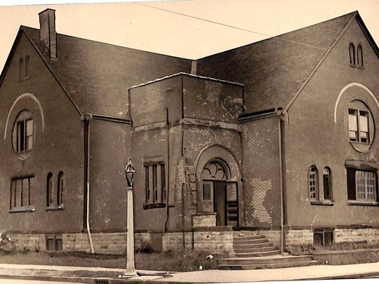 This historic photo of The Playhouse is from the collection of the Rochester Public Library's Local History Division.