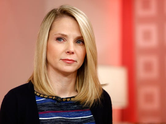 "Yahoo CEO Marissa Mayer appears on NBC's ""Today"" show"