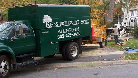 Wilmington's Kerns Brothers Tree Service has been sold to Davey Tree Expert Company.