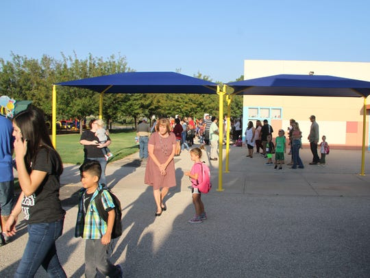 About 550 students are enrolled in Early Childhood