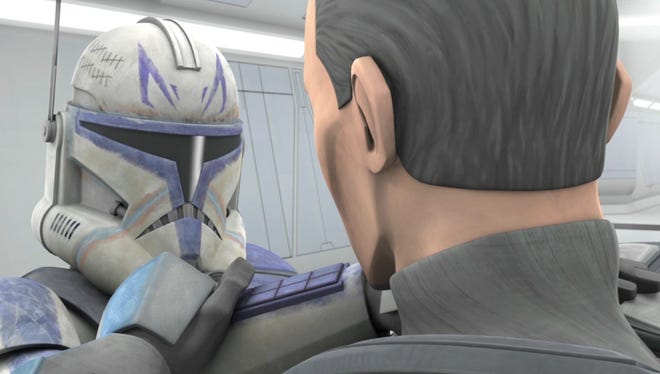 """Commander Rex and cadet Fives travel to Kamino with a sick soldier in one of the unaired episodes from """"Star Wars: The Clone Wars"""" premiering on Netflix."""