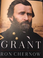 Cover of new biography of Grant by Ron Chernow.