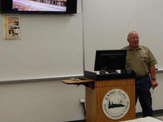 Dick Cooke, Forestry Director for the Village of Ruidoso.