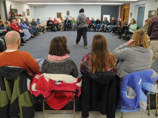Members of Englewood  Christian Church have been gathering for Sunday night conversations for 17 years. The church,   57 N. Rural St.,  has immersed itself in its Near Eastside neighborhood, and in the lives of members and residents.