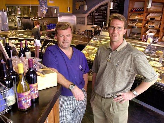 David Williams, left, and Carl Sobocinski, right in