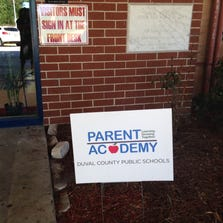 """Wolfson High School was the site of a recent Parent Academy class on """"Prioritizing Milestones in High School."""""""