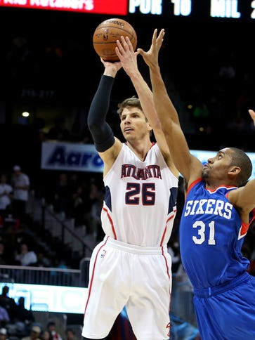 Kyle Korver and the Hawks squandered a 21-point lead