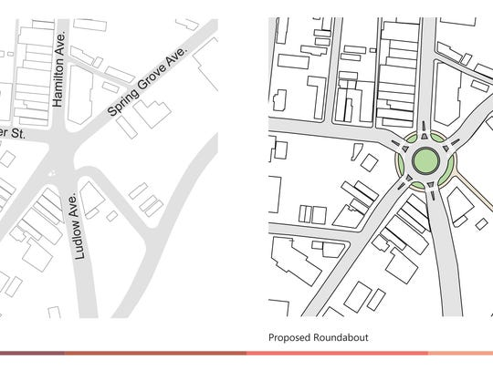 A proposal for a roundabout at Knowlton's Corner in