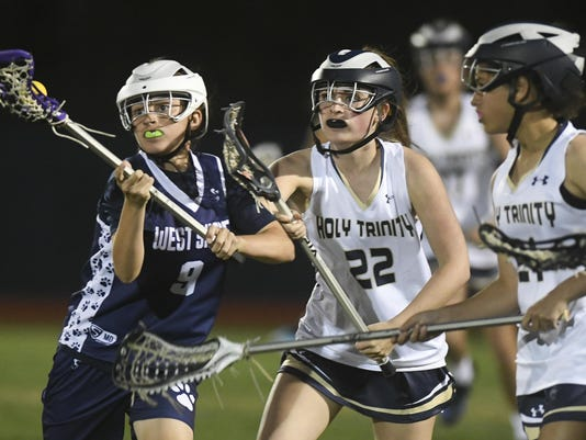 High School Lacrosse: West Shore vs. Holy Trinity