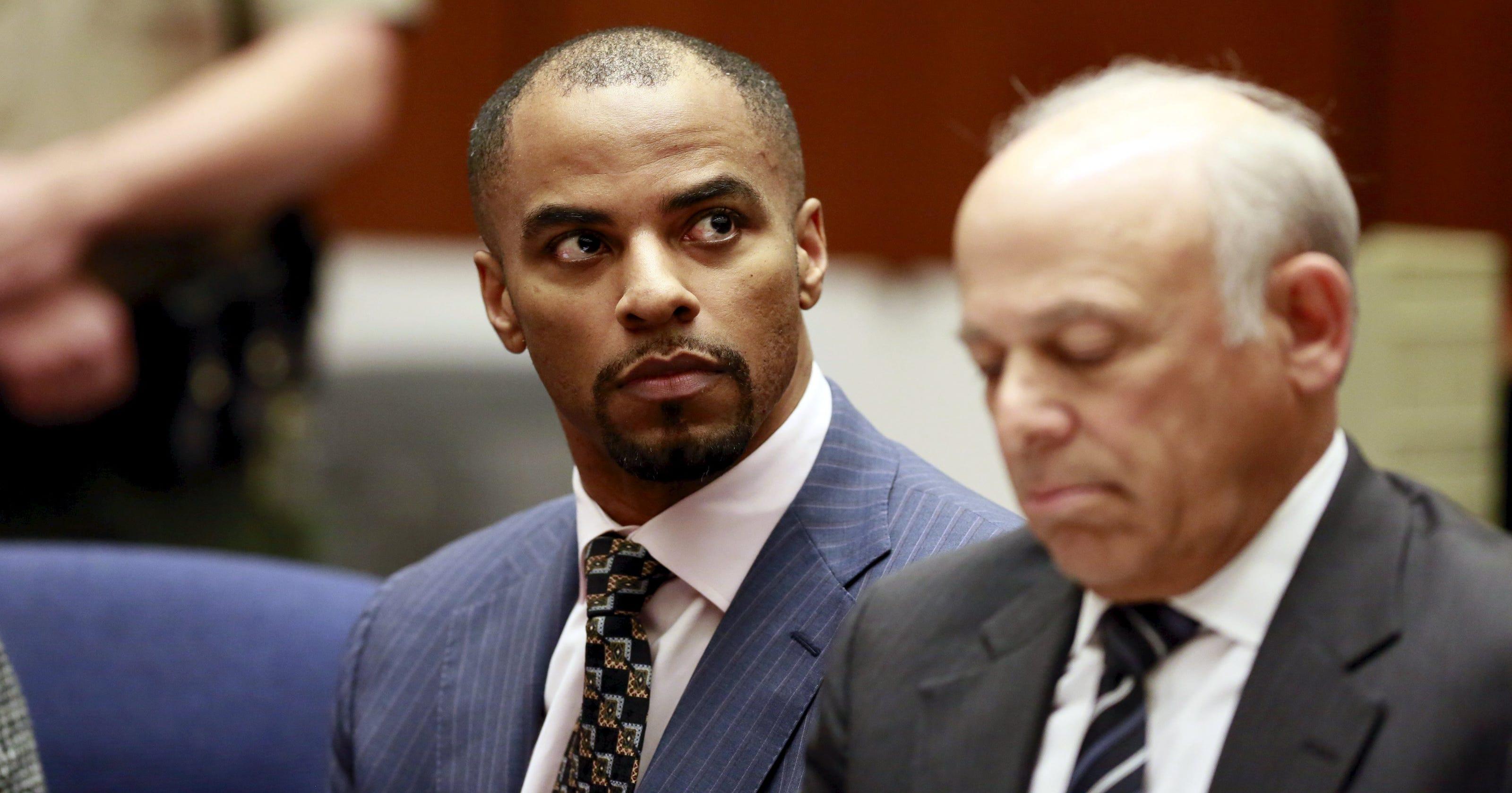 4e23da305bb Darren Sharper sentenced to 9 years for rape