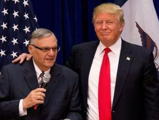 Joe Arpaio wonders: why haven't I heard from Donald Trump?