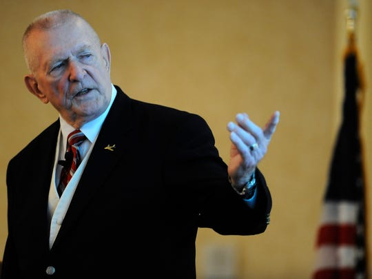 Gene Kranz, from NASA Mission Control during the Apollo Missions, will speak in July at Purdue for the 50th anniversary of the first moon landing.