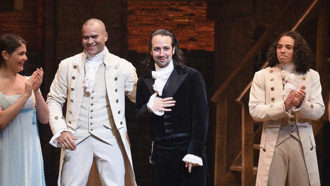 Lin-Manuel Miranda has stepped away from his celebrated musical, 'Hamilton.' But the show will go on.