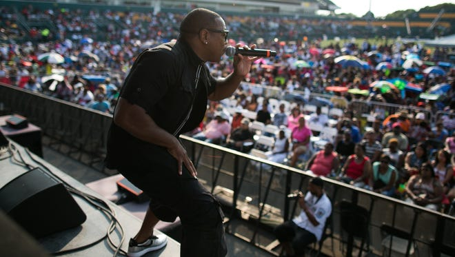 MERJ performed at SummerFest at what was then known as Sahlen's Stadium in Rochester in 2015. Weather concerns have moved this year's event on Friday and Saturday to Blue Cross Arena at the War Memorial.