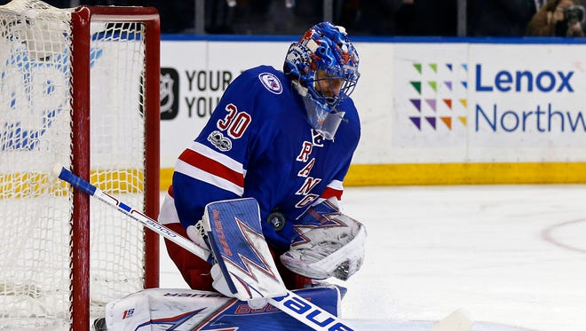 The New York Rangers need goalie Henrik Lundqvist to be their best player as the season winds down.