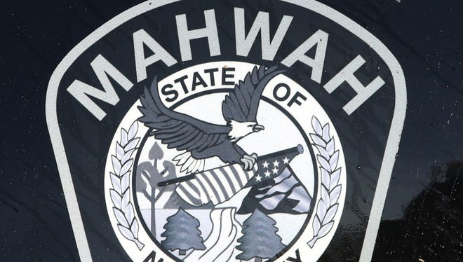 The Mahwah Police logo on a Mahwah Police vehicle parked at Mahwah Police Headquarters located at 221 Franklin Ave.