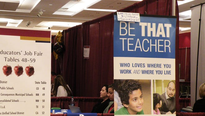 New Mexico State University Career Services is hosting the annual Educators' Job Fair in April in Corbett Center Student Union on the third floor. Representatives from numerous school districts will be in attendance to meet with prospective teachers.