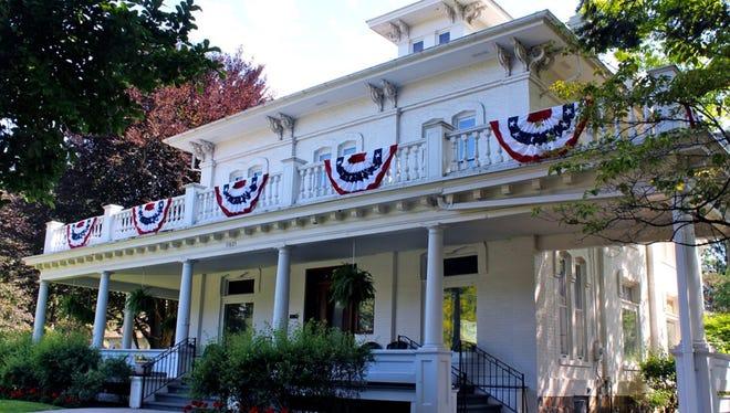 The historic Governor Warner Mansion will undergo repairs.