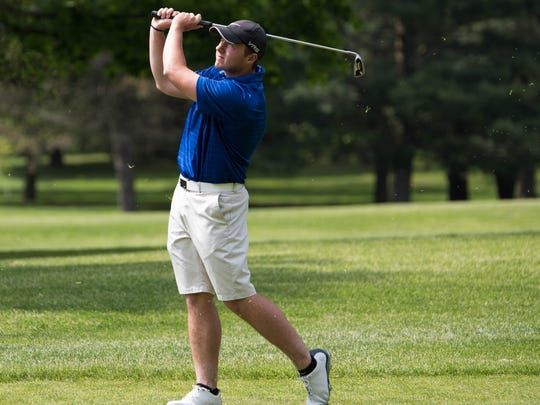 Harper Creek's Alex Johnson took fourth at the All-City golf tournament on Friday at Binder Park Golf Course.