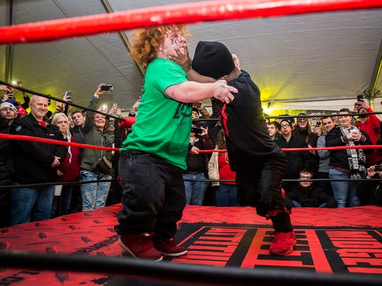 Extreme Midget Wrestling is coming to Gadi's Bar & Grill in Yucca Valley.