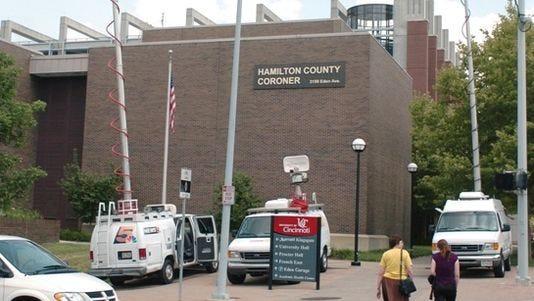 The Hamilton County Coroner's Office on Eden Avenue.