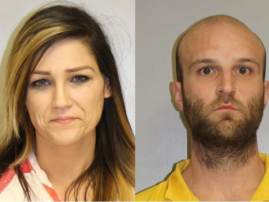 Brittany Higgins and Brian Bennett. Both Greencastle people are charged with third-degree murder in the death of Higgins' 3-year-old daughter in January 2018.
