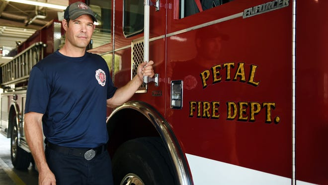 Petal firefighter Scott Hinnant started Passionate Pursuit Ministries.