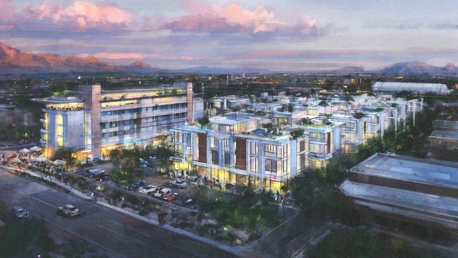 The Bahia Work Live Play Project proposed for Scottsdale.