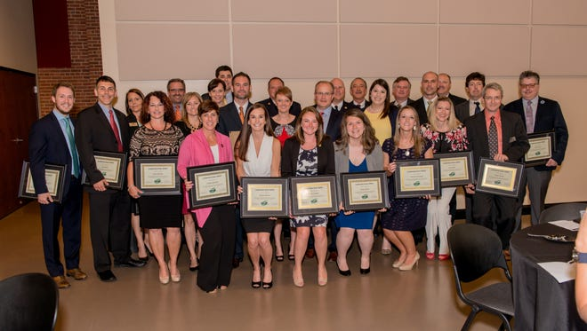 The latest graduates of Leadership Greer were honored recently during a ceremony at the Cannon Centre.