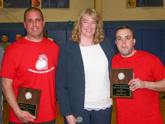 Del Val High salutes Burd, Guenther PHOTO CAPTION