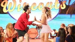 Willow Shields, 14, dances with pro Mark Ballas.