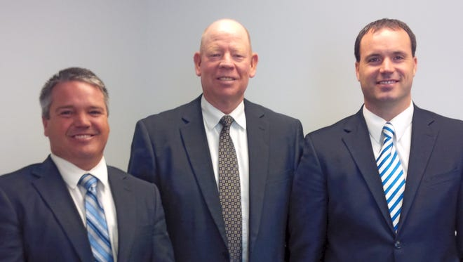 Josh Tietjen, John Robison and David Marchant were ordained into the bishopric for the Mesquite 2nd Ward of The Church of Jesus Christ of Latter-day Saints.