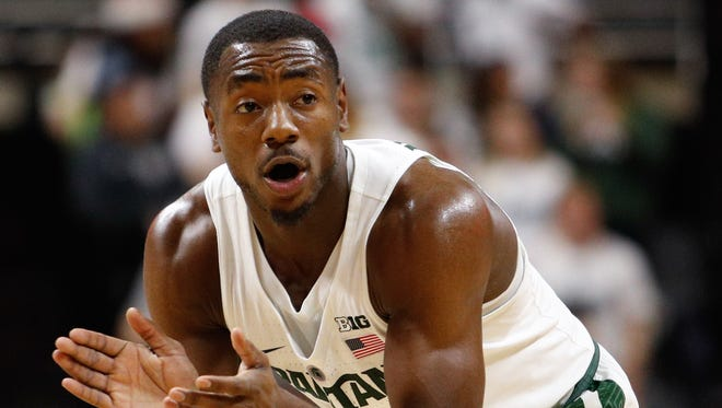 Tum Tum Nairn came off the bench for the first time this season in Michigan State's 77-65 win over Oakland on Wednesday, Dec. 21.