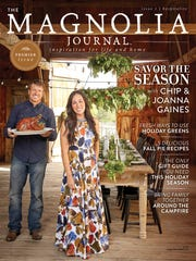 The cover of Magnolia Journal's fall 2016 issue is pictured here.