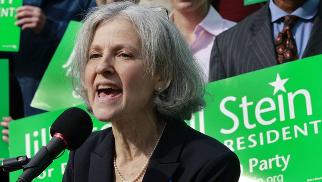 Elise Amendola/AP  Jill Stein is the 2016 Green Party presidential candidate. She is a Massachusetts physician.