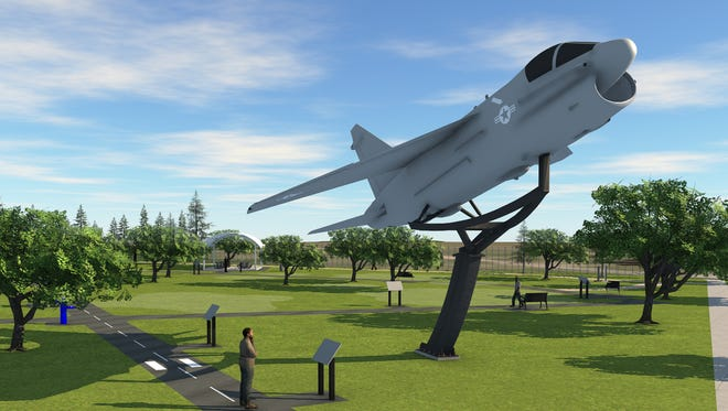 Alexander Airport Park will feature several new aviation themed additions.