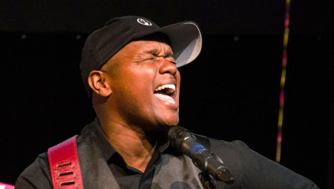 """Javier Colon, a winner of NBC's """"The Voice,"""" will perform Saturday at Musictown Detroit."""