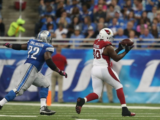 NFL Jerseys Online - Arizona 42, Detroit 17: Lions commit 6 TOs; Matthew Stafford benched