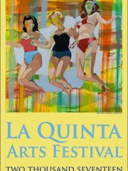 Artists and life partners Signe and Genna Grushovenko, of South Carolina, designed the poster for this year's La Quinta Arts Festival, taking place March 2-5, 2017, at the Civic Center Campus in La Quinta.
