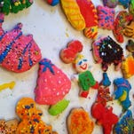 Chef Ouita Michel cherishes this photo of sugar cookies, the last batch made by her mother, Pam Papka Sexton before she succumbed to lung cancer in 2014 at age 68.