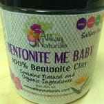 The front label of Bentonite Me Baby Back.