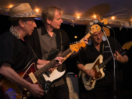Classic surf music band the Fathoms plays Asbury Lanes