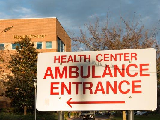 UCF Buildings_Health Center_Ambulance Entrance.JPG