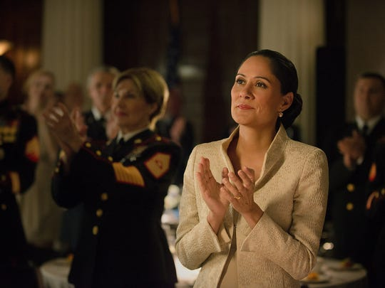 """Sakina Jaffrey played Linda Vasquez in the Netflix hit series """"House of Cards."""" The Nyack resident also starred in """"Sleepy Hollow"""" on Fox."""