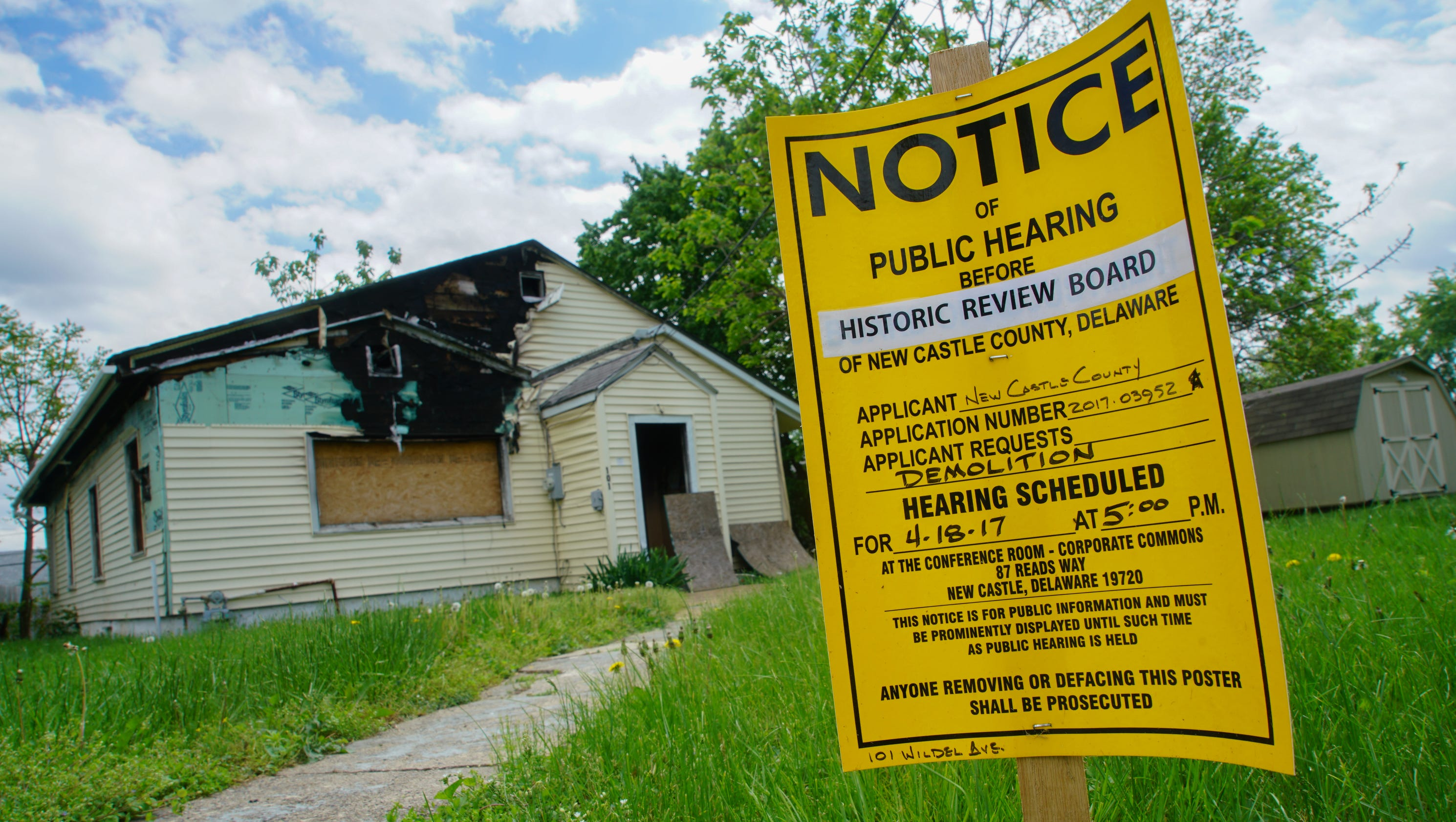 New castle county clamps down on vacant homes with new for 0 down homes