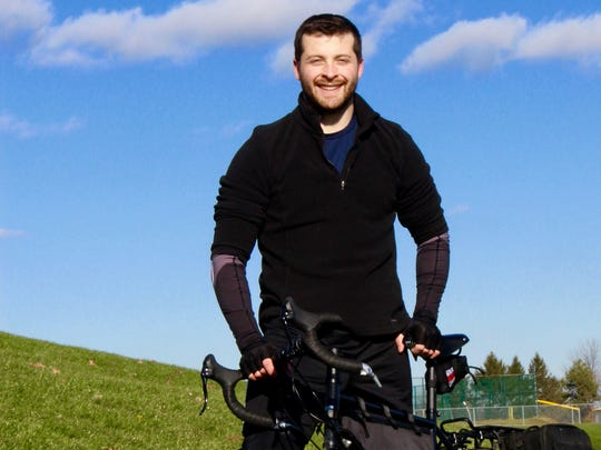Matt Barbaccia of Pittsford leaves Feb. 27 on a cross country journey to help raise awareness about Parkinson's disease.